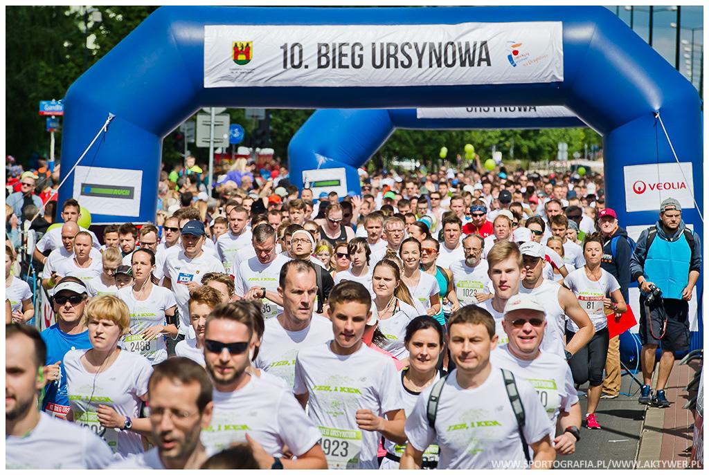 10. Bieg Ursynowa, 11.06.2016 Warszawa
