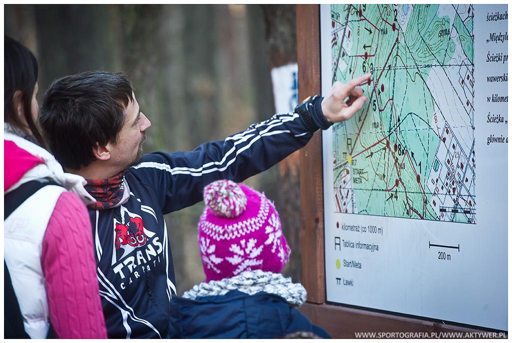 Zimowe Biegi Górskie, 28.12.2013 Falenica