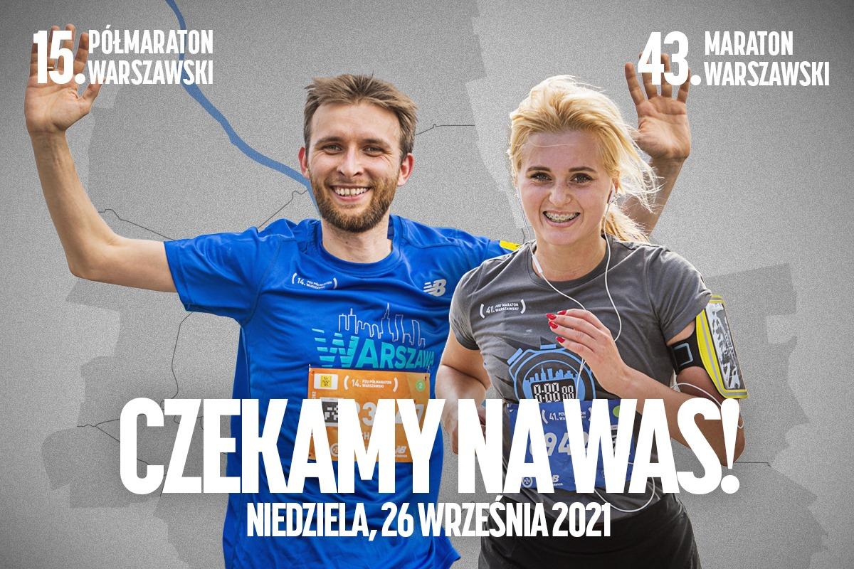 Maraton Warszawski 2021 i Polmaraton Warszawski 2021   Aktywer
