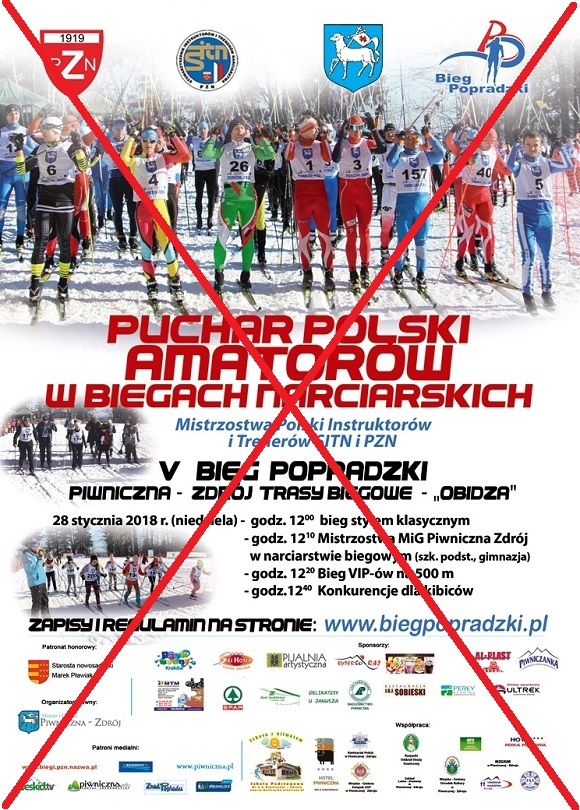 Bieg Popradzki Piwniczna 2018