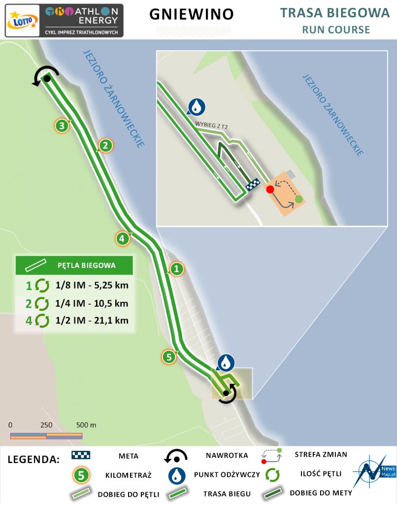 Triathlon Energy Gniewino 2021 bieg | Aktywer