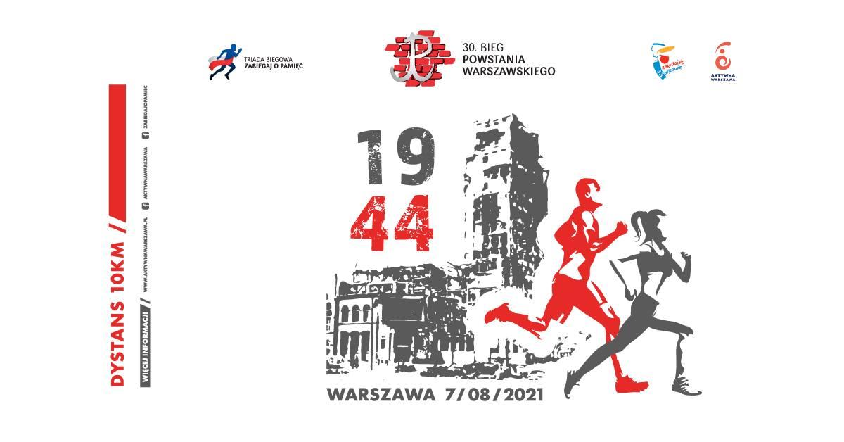 Bieg Powstania Warszawskiego 2021 | Aktywer